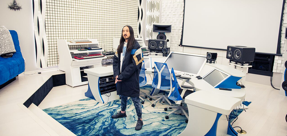 Inside Steve Aoki's Incredible Mansion